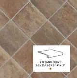 Peldano Curvo Boston South 33x36