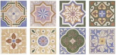 Decor Bastide Mix 20x20