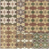 Decor Carpet Ocre 20x20