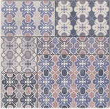 Decor Carpet Blu 20x20